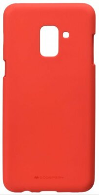 Чехол Goospery для Galaxy A8 2018 (A530) SF Jelly Red (8809550413443) 1