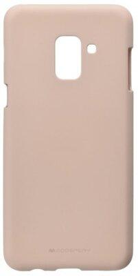 Чехол Goospery для Galaxy A8 2018 (A530) SF Jelly Pink Sand (8809550413450) 1