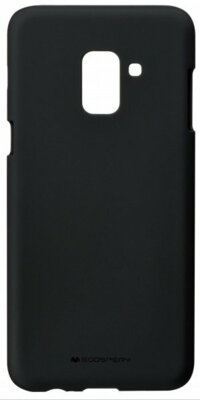 Чехол Goospery для Galaxy A8 2018 (A530) SF Jelly Black (8809550413429) 1