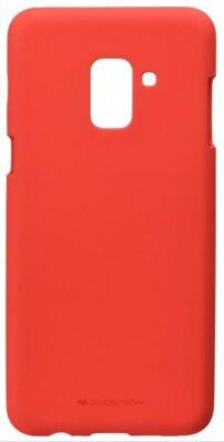 Чехол Goospery для Galaxy A8+ 2018 (A730) SF Jelly Red (8809550413535) 1