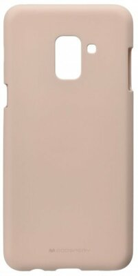 Чохол Goospery для Galaxy A8+ 2018 (A730) SF Jelly Pink Sand (8809550413542) 1