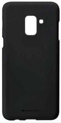 Чохол Goospery для Galaxy A8+ 2018 (A730) SF Jelly Black (8809550413511) 1