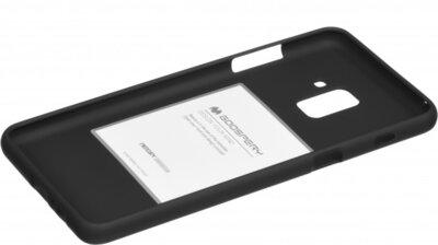 Чохол Goospery для Galaxy A8+ 2018 (A730) SF Jelly Black (8809550413511) 2