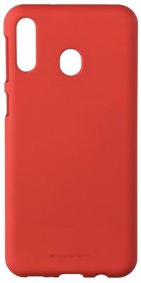 Чехол Goospery для Galaxy M20 (M205) SF JELLY Red (8809661780717) 1