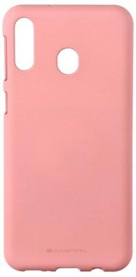Чехол Goospery для Galaxy M20 (M205) SF JELLY Pink (8809661780762) 1