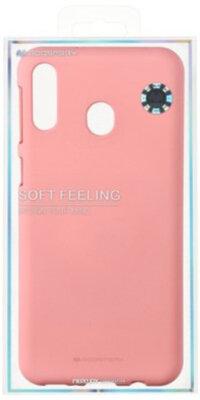 Чехол Goospery для Galaxy M20 (M205) SF JELLY Pink (8809661780762) 3