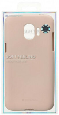 Чохол Goospery для Galaxy J2 2018 (J250) SF Jelly Pink Sand (8809550415430) 3