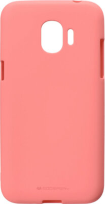 Чехол Goospery для Galaxy J2 2018 (J250) SF Jelly Pink (8809550415478) 1