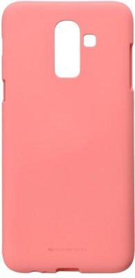 Чохол Goospery для Galaxy J8 2018 (J810) SF Jelly Pink (8809621280196) 1