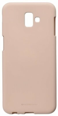 Чохол Goospery для Galaxy J6+ 2018 (J610F) SF Jelly Pink Sand (8809621301143) 1