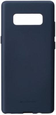 Чохол Goospery для Galaxy Note 8 SF Jelly Midnight Blue (8809550409422) 1