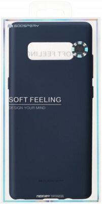 Чохол Goospery для Galaxy Note 8 SF Jelly Midnight Blue (8809550409422) 2