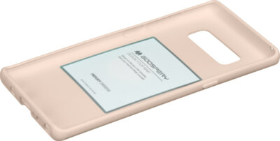 Чехол Goospery для Galaxy Note 8 (N950) SF Jelly Pink Sand (8809550409408) 2