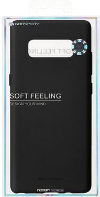 Чохол Goospery для Galaxy Note 8 SF Jelly Black (8809550409378) 3
