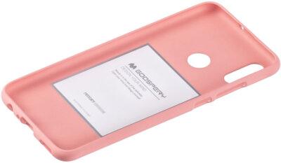 Чехол Goospery для Huawei P Smart 2019 SF JELLY Pink (8809653420508) 2