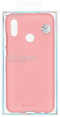 Чехол Goospery для Huawei P Smart 2019 SF JELLY Pink (8809653420508) 3