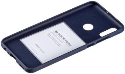 Чохол Goospery для Huawei P Smart 2019 SF JELLY Midnight Blue (8809653420485) 2