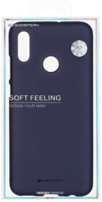 Чохол Goospery для Huawei P Smart 2019 SF JELLY Midnight Blue (8809653420485) 3