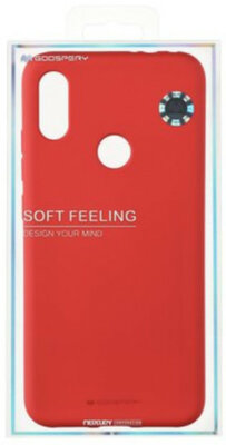 Чохол Goospery для Xiaomi Redmi Note 7 SF JELLY Red (8809661775324) 3