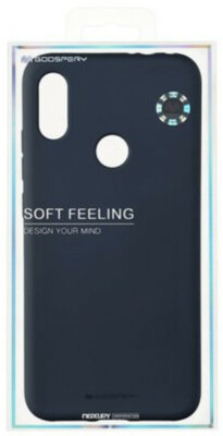 Чохол Goospery для Xiaomi Redmi Note 7 SF JELLY Midnight Blue (8809661775355) 3