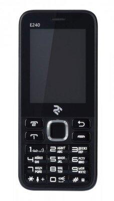 Мобільний телефон 2E E240 DS Black 12