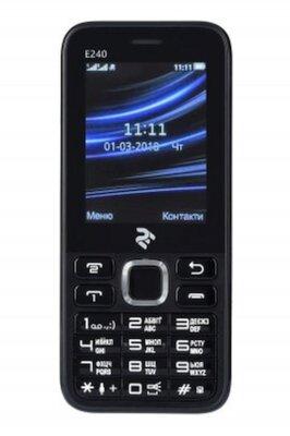 Мобільний телефон 2E E240 DS Black 1