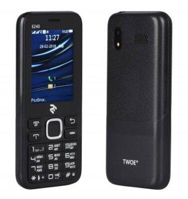 Мобільний телефон 2E E240 DS Black 7