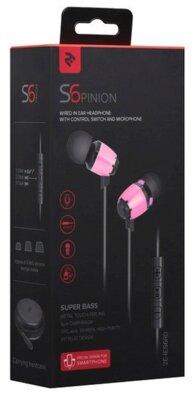 Навушники 2E S6 Pinion Red 6