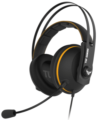 Гарнитура ASUS TUF Gaming H7 Core Yellow (90YH01RY-B1UA00) 1