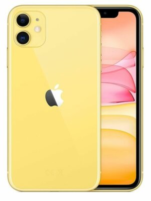 Смартфон Apple iPhone 11 64GB Yellow 2