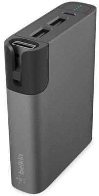 Мобильная батарея Belkin RockStar 6600mAh Gray 2