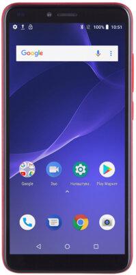 Смартфон 2E F572L 2018 DualSim Red 1
