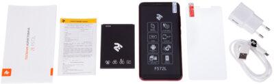 Смартфон 2E F572L 2018 DualSim Red 17