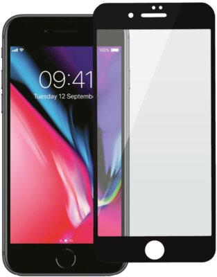 Защитное стекло 2E iPhone Plus 7/8 3D black color border/Full glue (2E-TGIP-8/7P-3D) 1