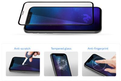 Захисне скло 2E iPhone 7/8 3D black color border/Full glue (2E-TGIP-8/7-3D) 2