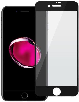Захисне скло 2E iPhone 7/8 2.5D black color border/Full glue (2E-TGIP-8/7-25D) 1