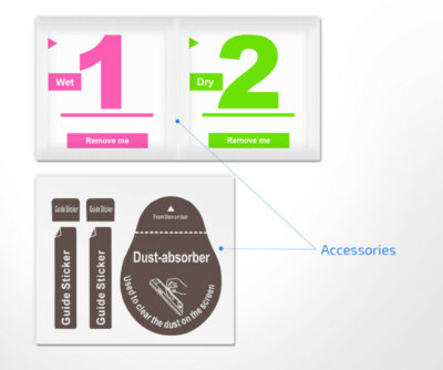 Захисне скло 2E iPhone 7/8 2.5D black color border/Full glue (2E-TGIP-8/7-25D) 4