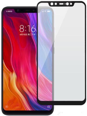 Захисне скло 2E Xiaomi Mi 8 Black, 0.33mm, 2.5D (2E-TGMI-MI8-25D-BB) 1