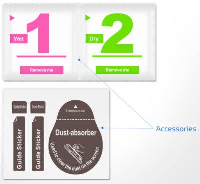 Захисне скло 2E Xiaomi Mi 6 Black, 0.33mm, 2.5D (2E-TGMI-MI6-25D-BB) 6