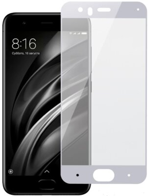Захисне скло 2E Xiaomi Mi 6 White, 0.33mm, 3D (2E-TGMI-6-3D-WB) 1