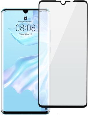 Захисне скло 2E для Huawei P30 2.5D FCFG Black Border (2E-H-P30-LTFCFG-BB) 1