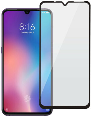 Защитное стекло 2E для Xiaomi MI 9 2.5D FCFG Black Border (2E-MI-MI9-LTFCFG-BB) 1
