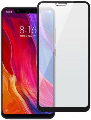 Захисне скло 2E Xiaomi Mi 8 Black, 0.33mm, 3D (2E-TGMI-8-3D-BB) 1