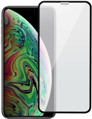 """Захисне скло 2E iPhone XS Max 6.5"""" 3D black border FG (2E-TGIP-2018-6.5-3D) 1"""