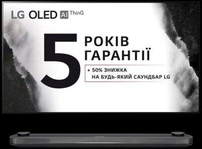 Телевізор LG OLED77W9PLA 1