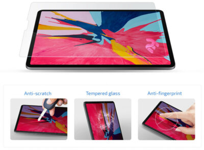 Захисне скло 2E для Apple iPad Pro 11 (2018) 2.5D clear (2E-TGIPD-PAD11) 3