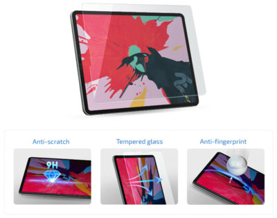 Захисне скло 2E для Galaxy Tab S5e (SM-T725) 2.5D Clear (2E-G-TABS5E-LT25D-CL) 3