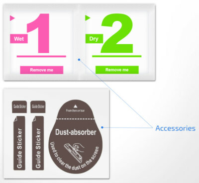Захисне скло 2E для Galaxy Tab S5e (SM-T725) 2.5D Clear (2E-G-TABS5E-LT25D-CL) 4