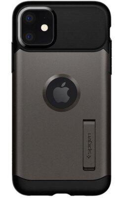 Чохол Spigen для iPhone 11 Slim ArmorGunmetal 1