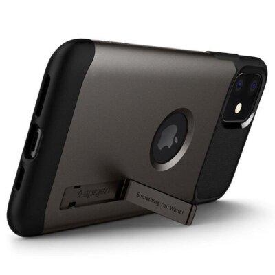 Чохол Spigen для iPhone 11 Slim ArmorGunmetal 2